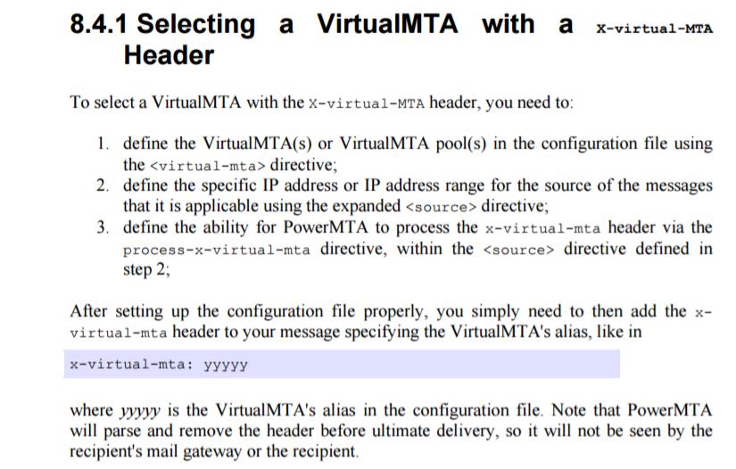 Rotate IP Addresses With TELNET and POWERMTA - RekBlog com